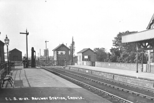 Crowle Central Station looking west
