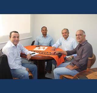 Lideranças da Zona Norte e Zona Oeste, Professor Enoque, Vagner (bombeiro) e Gilberto Costa apoiam o Solidariedade nas Eleições 2014