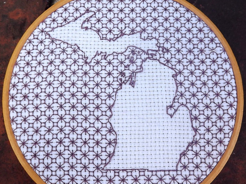 Michigan Blackwork