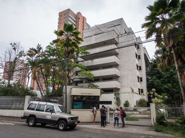 The Monaco building where Pablo Escobar once lived