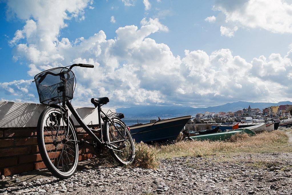La bici e le nuvole