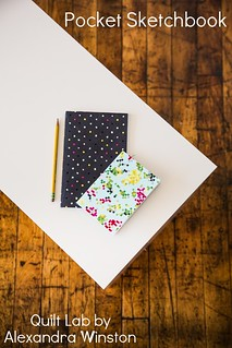 Pocket Skectbook from Quilt Lab by Alexandra Winston