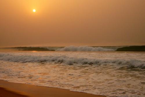 ocean africa beach sunrise african atlantic westafrica benin atlanticocean ouidah bénin calebficner