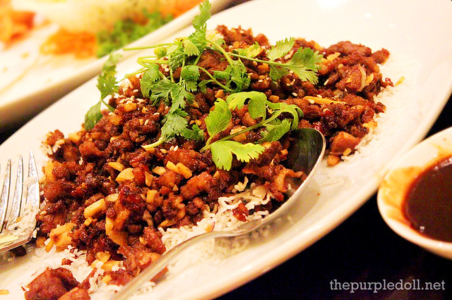 Peking Duck 2nd Way (Minced with Lettuce Cups)