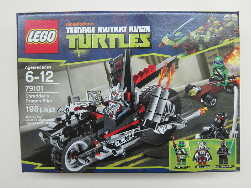 Lego - 79101 - Ninja Turtles - Shredder Dragon Bike