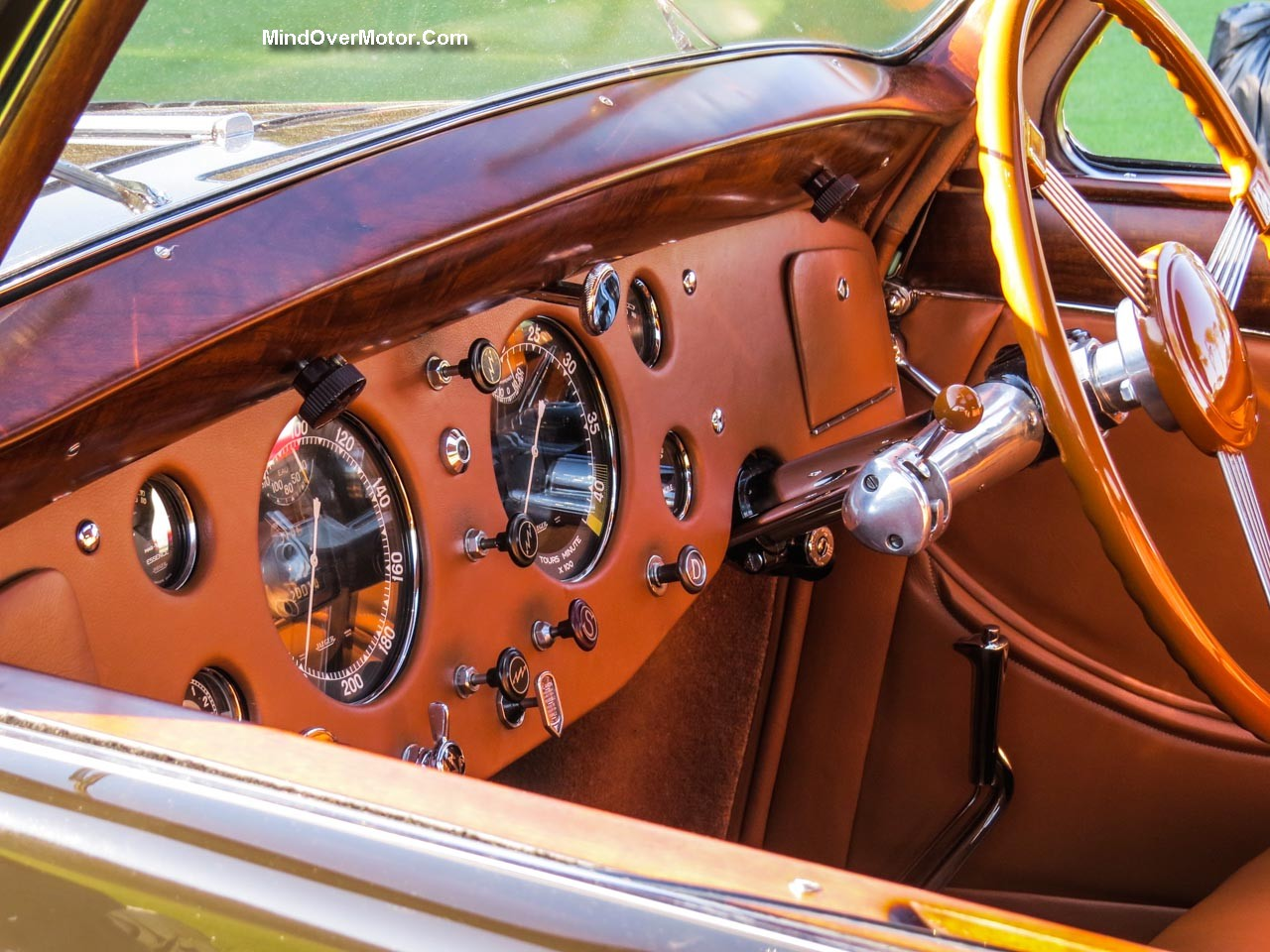Delage D8 120S Interior Left