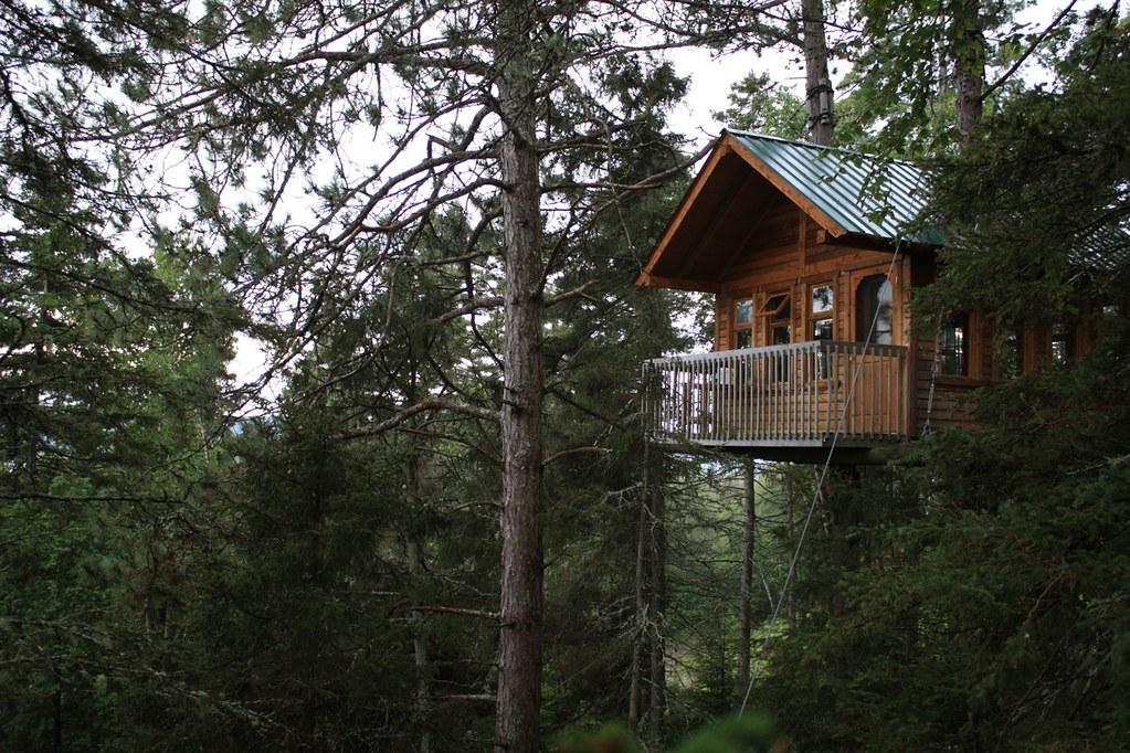 ma nuit dans une cabane dans les arbres taxi brousse. Black Bedroom Furniture Sets. Home Design Ideas