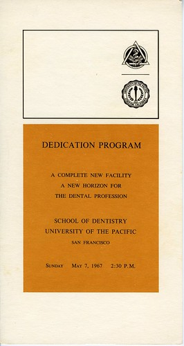 Dedication Program 1967