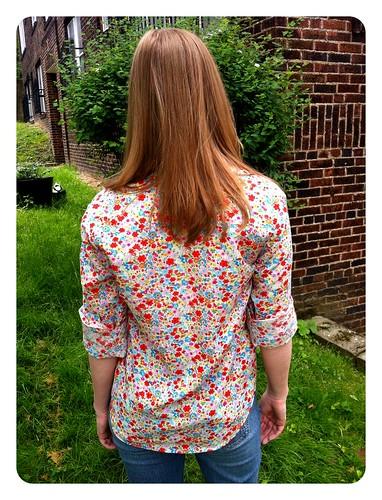 Floral Archer back