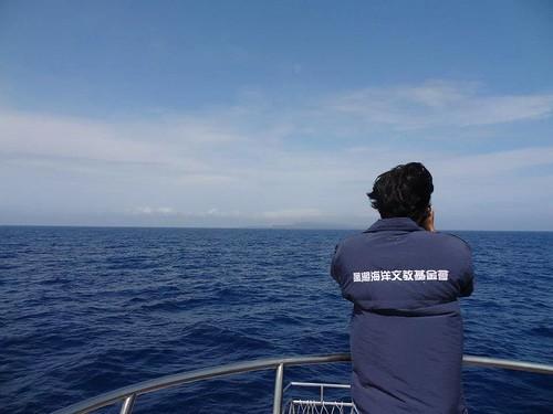 低調而溫和的威任,好幾年來與黑潮同行。圖片來源:黑潮海洋文教基金會