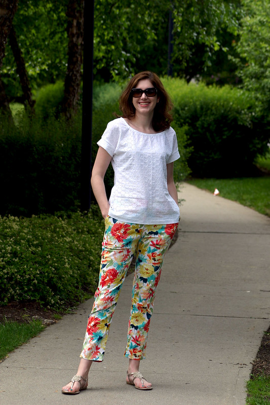 belcarra and floral pants 1