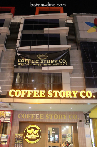 Front View of Coffee Story Co.