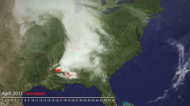 A link between climate change and Joplin Tornadoes? Never.