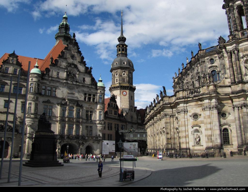 Schlossplatz, Dresden, Germany