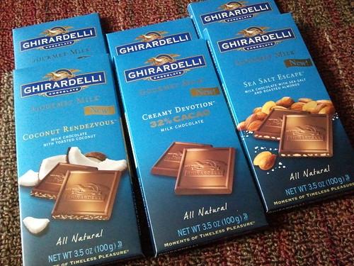 Ghirardelli gourmet milk