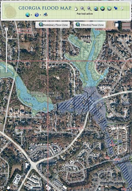 Heneghan's Dunwoody Blog: Updated Dunwoody Flood Maps? on flood areas in georgia, topographic maps georgia, weather maps georgia, fema maps georgia, flooding georgia, google earth georgia,