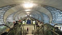 Concourse E, Suvarnabhumi Airport Bangkok, Thailand