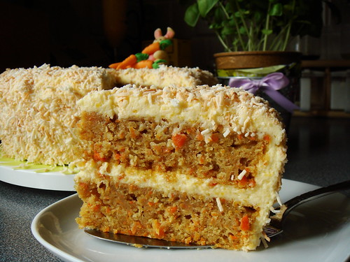 Mango Coconut Carrot Cake: Flecks Of Carrot