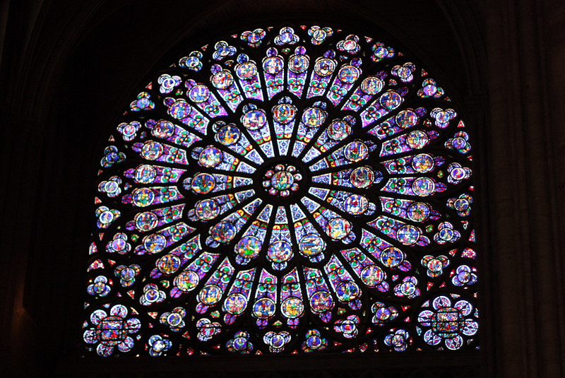 Notre Dame South Rose window