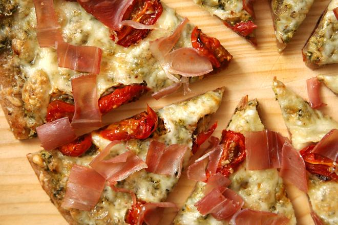 prosciutto goat cheese pizza 8
