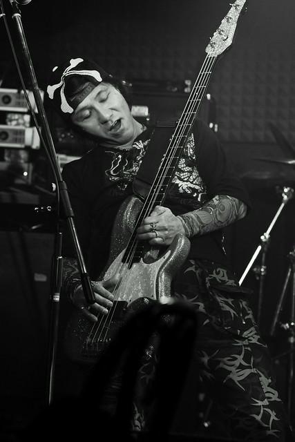 FLEA live at Crawdaddy, Tokyo, 07 Apr 2012. 304