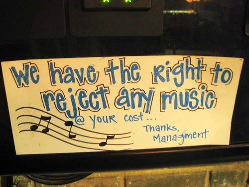 Reject your music