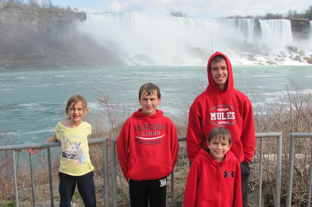 Maid of the Mist - Just a little wet afterward