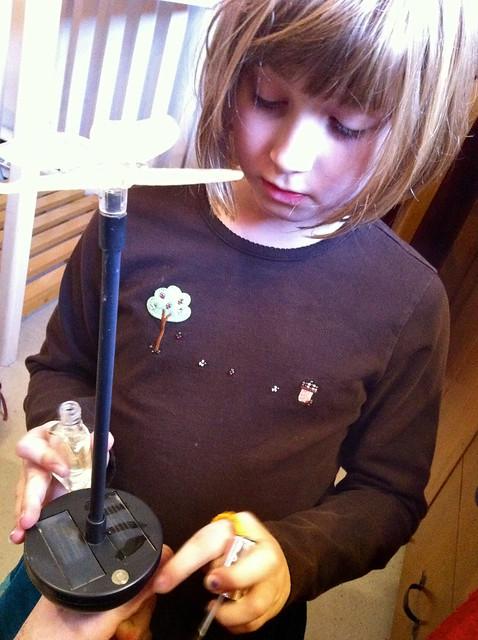Nail polish on solar cells?