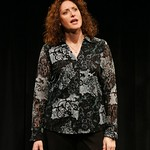 Emmy Award-winning writer/actress/comedian Judy Gold stars in her hit Off Broadway one-woman show, <i>25 Questions for a Jewish Mother<i>, playing at the Calderwood Pavilion. Part of the 2007-2008 season. Photo: Carol Rosegg