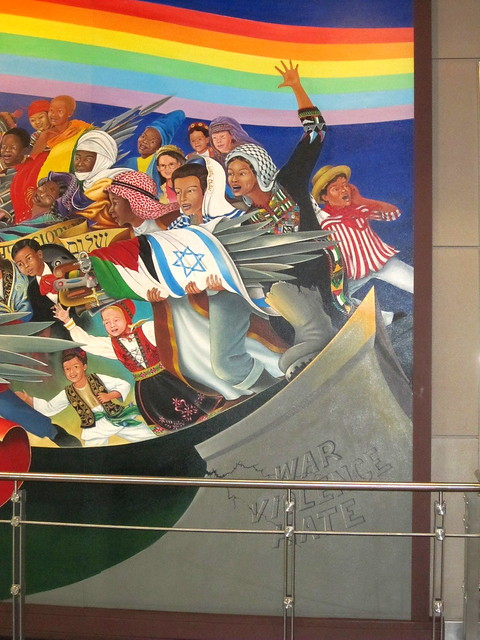 Denver airport mural 3 flickr photo sharing for Denver international airport mural