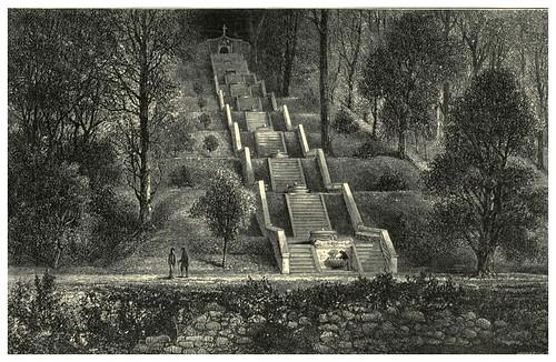 012-La fuente fria en el bosque de Bussaco en Coimbra-Fair Lusitania -1874