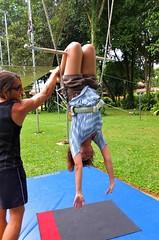 trapeze practice