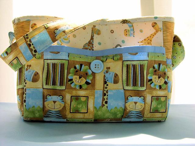 Handmade Diaper Bags : Diaper bags handmade bag boys