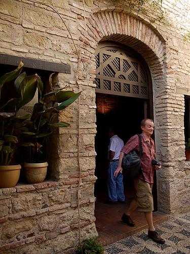 entrance of Cordoba Synagogue