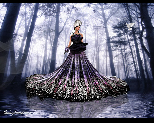 Bliss Couture for Ashraya Project. Calima Gown by Babychampagne