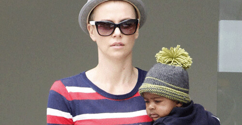 Charlize Theron Shaves Her Head!!!
