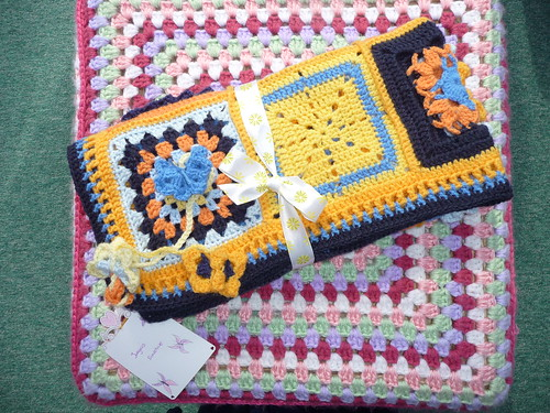Ta - Dah! Introducing SIBOL No. 183. 'Jurgen's Sunshine'. Made and donated by Fiona (Netherlands).,
