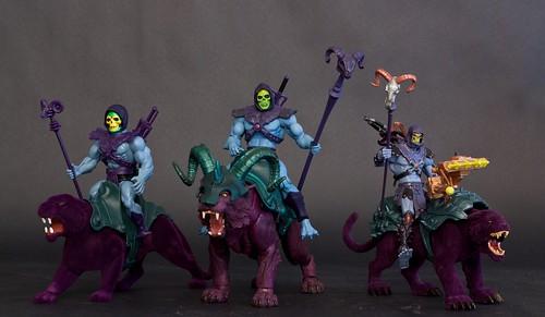 Skeletor and Panthor & Skeletor and Panthor & Skeletor and Panthor