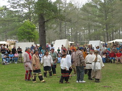 Public bicentennial events are currently being held to commemorate the bicentennial of the Battle of Horseshoe Bend.