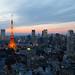 Tokyo Tower at Twilight by Masahiko Futami