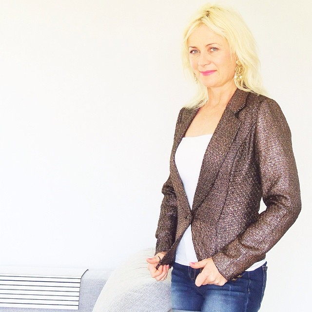 Fab copper jacket from Norwegian designer #KristineVikse