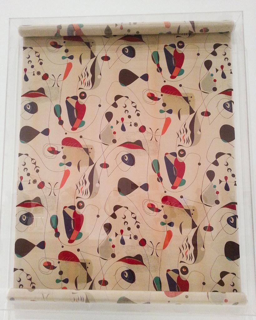 California design - Textile 'European Group' by Paul Laszlo