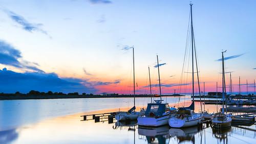 sunset marina harbor skåne sweden sverige malmö solnedgång öresund limhamn lagunen småbåtshamn pwpartlycloudy limhamnssjöstad