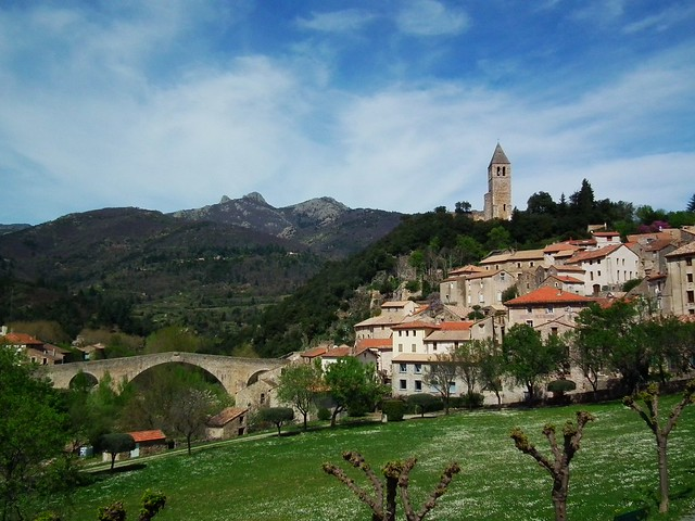 Olargues, Haute Laungedoc, France