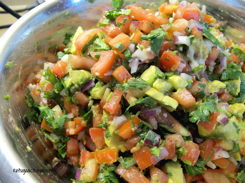 Spicy Avocado Pico de Gallo