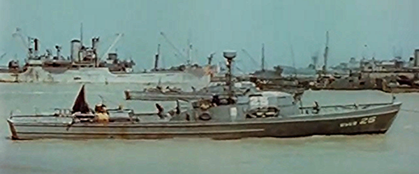 83-footer off the Normandy coast on June 8, 1944