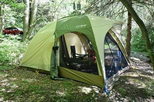 LL Bean King Pine 4 Person Tent