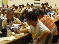 兩岸媒體代表一同參與921國際研討會