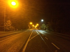Orange vs white street lights