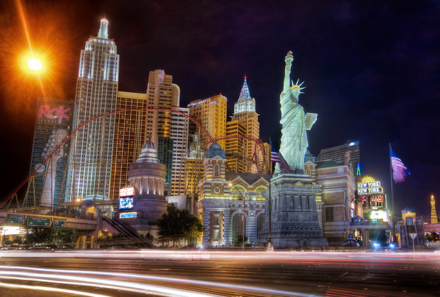 The Bright Lights of New York in Vegas